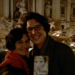 Ana-Felicia Scutelnicu & Jonas Weydemann at the Trevi Fountain