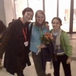 Ana-felicia Scutelnicu, Olga Radu and Lilia Braila shortly before the premiere!