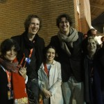 Marie-Pierre Duhamel, Jakob D. Weydemann, Lilia Braila, Jonas Weydemann and Sara Silveira.