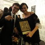 Paolo Moretti and director Ana-Felicia Scutelnicu.
