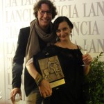 Ana-Felicia Scutelnicu & Jonas Weydemann with the CinemaXXI Award for Panihida.