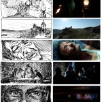 Panihida - From Storyboard to Final Image